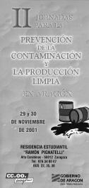 II Jornadas en Aragón sobre Producción Limpia
