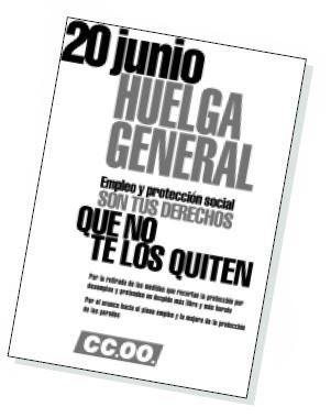 Manifiesto de apoyo a la huelga general