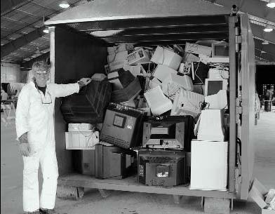 Los fabricantes de aparatos eléctricos, responsables de la recogida de los residuos