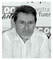 Luis Cuena. Responsable de Energía y Transporte de CCOO de Madrid (USMR)