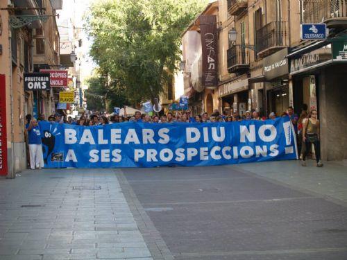 Baleares: una voz unánime contra las prospecciones petrolíferas