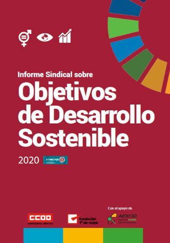 Informe sobre ODS 2020 de CCOO