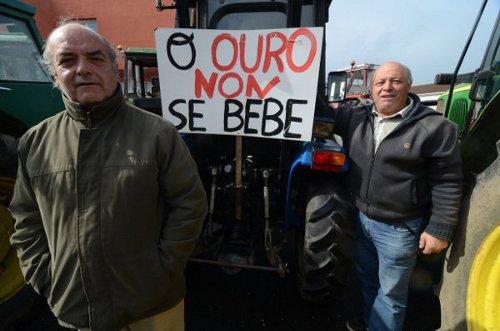 Corcoesto: detuvimos el desastre pero la amenaza continua