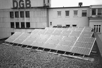 Hamburgo: electricidad solar en tejados sindicales