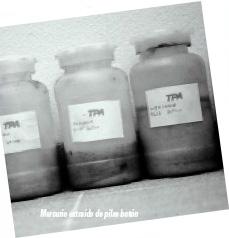 Las sustancias químicas, un riesgo para la salud pública y el medio ambiente
