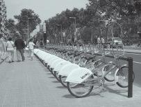 Bicing, la bicicleta como un medio más de transporte público urbano