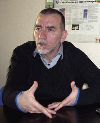 Joaquín Nieto. Ex-secretario confederal de Medio Ambiente y Salud Laboral de CCOO
