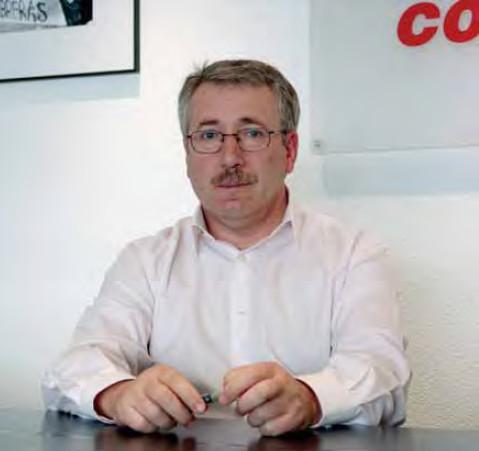 Ignacio Fernández Toxo. Secretario general de CCOO