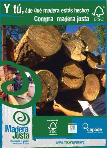¿De dónde procede la madera que consumimos?
